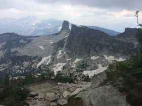 The first view of Chimney Rock. What an awesome feature! Photo: Nick Sweeney