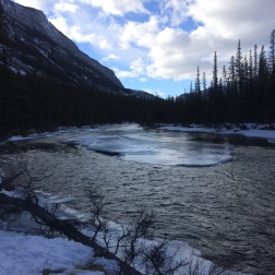 Views of the Bow River on the hike out. Photo: Nick Sweeney